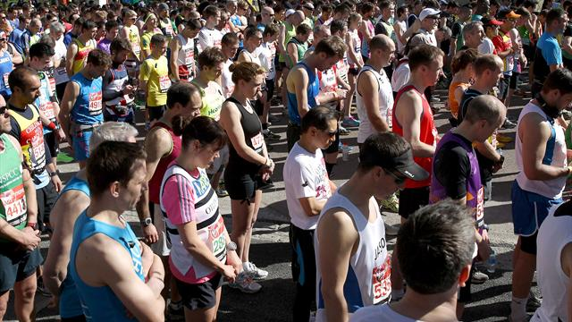 London Marathon in Boston tribute - Athletics