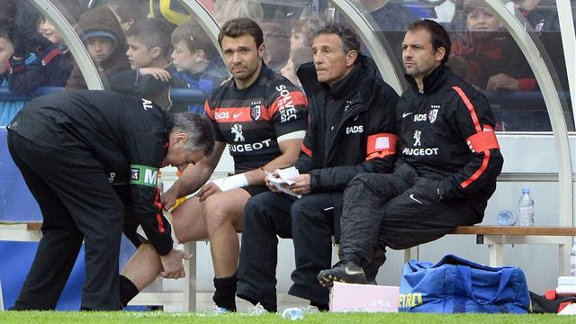 Top 14, Stade toulousain: Le repos forcé de Vincent Clerc - Rugby - Top 14