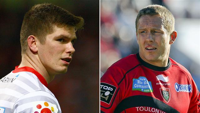 Farrell-Wilkinson, la fougue face à l'expérience - Rugby - Coupe d'Europe
