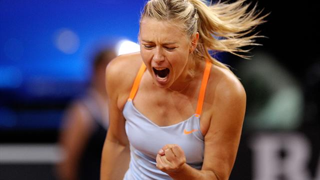 Sharapova shows off 'Shugarpova' candy in Moscow - Tennis