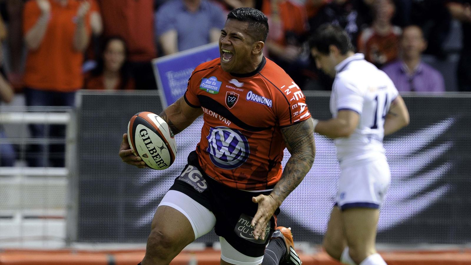 David Smith - Toulon Agen - 4 mai 2013