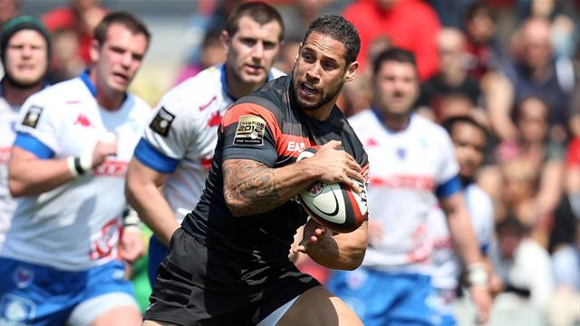 Toulouse assure le spectacle - Rugby - Top 14
