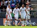 Nice beat Rennes to stay in Champions League mix
