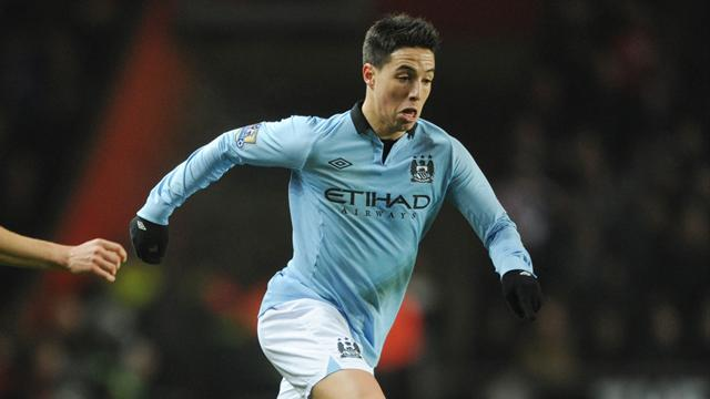 2012-2013 Premier League Manchester City-Southampton Nasri