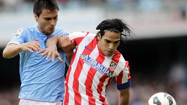 Falcao grabs winner as Atlético beat Celta Vigo - Football - Liga
