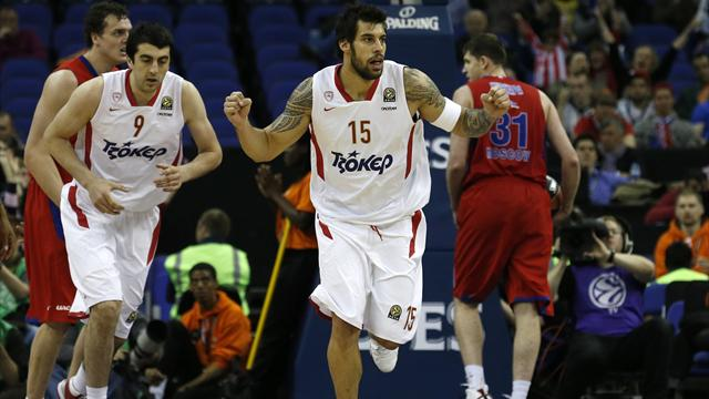 Olympiacos to meet Real in Euroleague final