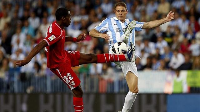 Missed chances cost Sevilla at Malaga