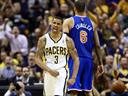 Pacers smother Knicks, Spurs whip Warriors