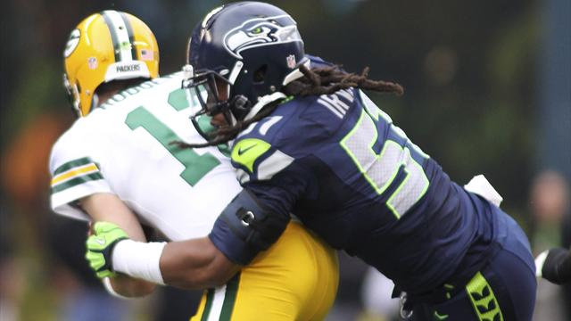 Seahawks' Irvin banned for drug violation - American Football - NFL