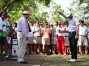 Bradley stays in charge at Byron Nelson, Guan exits