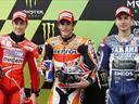Marquez takes second MotoGP pole at Le Mans