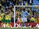 Norwich deservedly win five-goal thriller at City