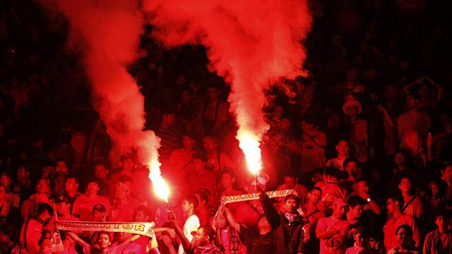 Indonesia hit with fine for crowd trouble