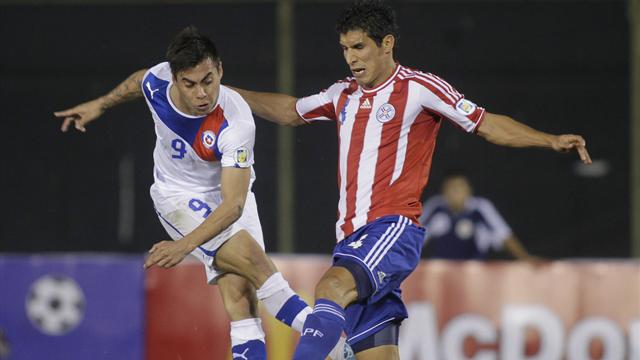Chile boost World Cup chances with win over Paraguay