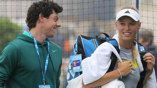 Wozniacki gets engaged to McIlroy - Tennis
