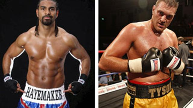 Haye v Fury announced this week?