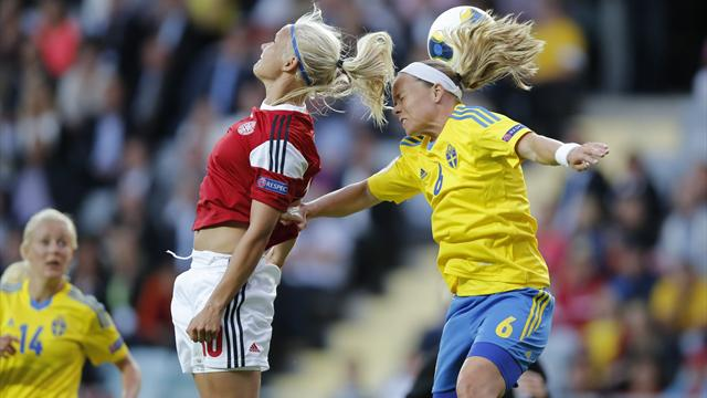Sweden miss two penalties against Denmark as day one concludes