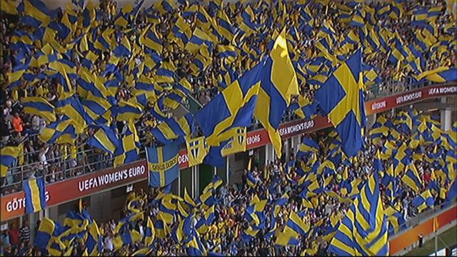 Sweden miss two penalties against Denmark as day one concludes - Football - Women's Euro