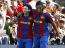 Messi grateful to former Barca hero Ronaldinho