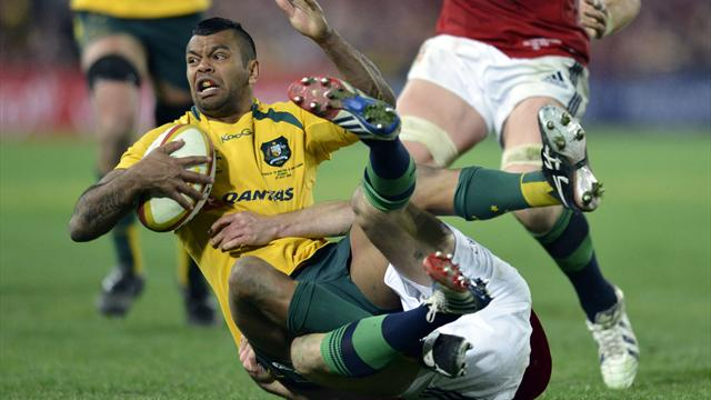 Kurtley Beale lâché par les Melbourne Rebels