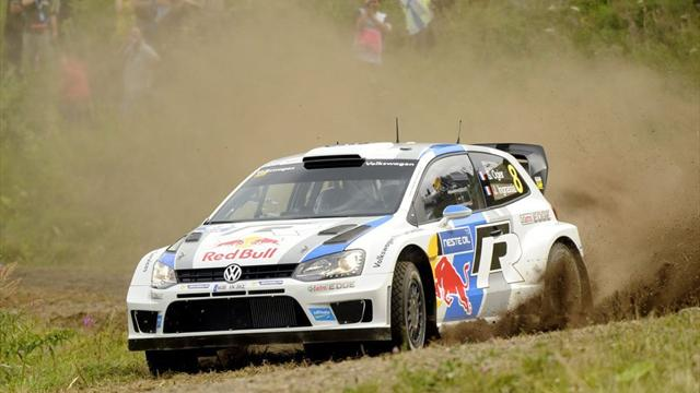Ogier claims first Rally Finland win