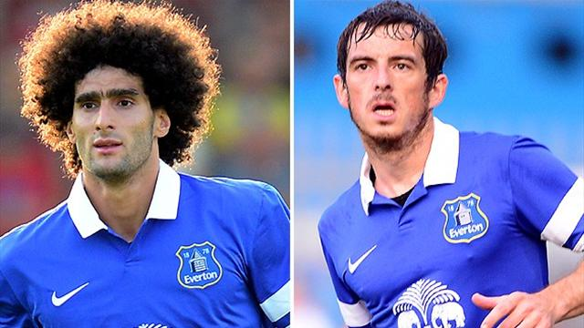 Everton reject 'insulting' United bid for Fellaini and Baines
