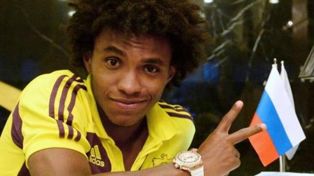 Willian 'agrees five-year deal with Tottenham' - Football - Premier League