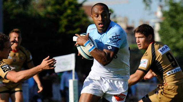 Joe Rokocoko, taulier all black de Bayonne - Rugby - Top 14