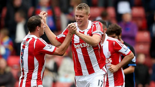 First win for new boss Hughes as Stoke beat Palace