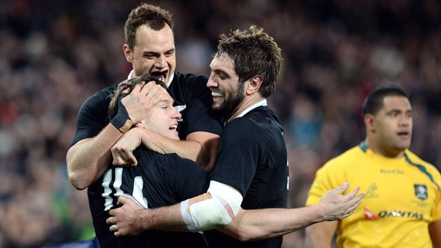 Les All Blacks sans forcer - Rugby - Rugby Championship