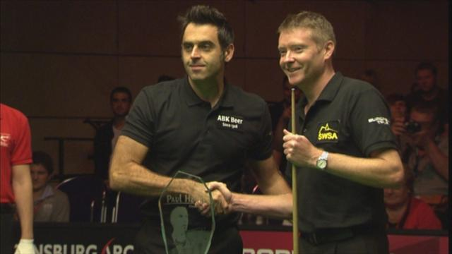 Superb O'Sullivan wins Paul Hunter Classic - Snooker