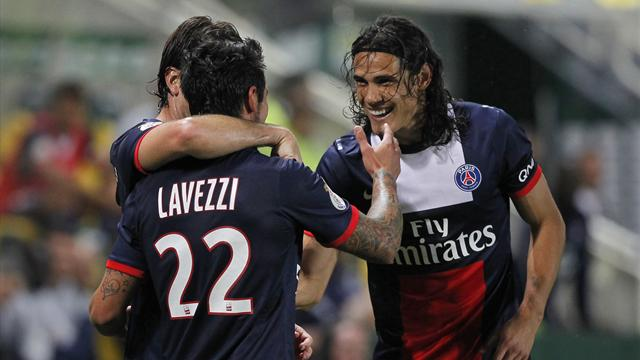 PSG claim first win of season at Nantes