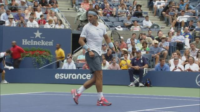 Nadal dismisses Harrison to move into second round - Tennis - US Open
