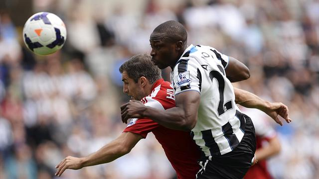 Ben Arfa screamer lifts Newcastle over Fulham - Football - Premier League
