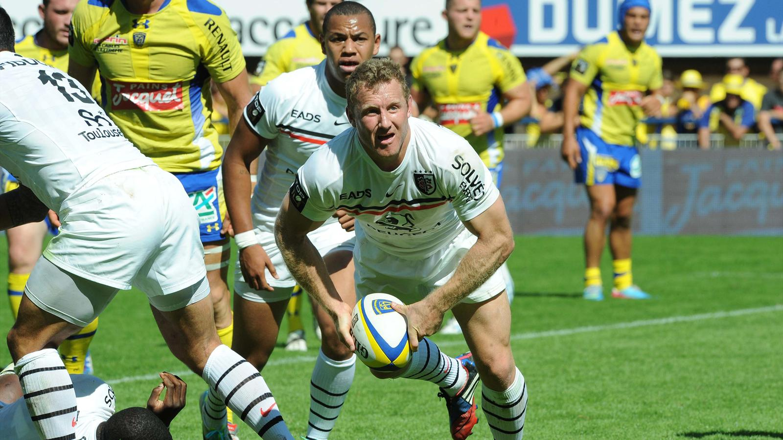 Jano Vermaak - Clermont Toulouse - 31 aout 2013