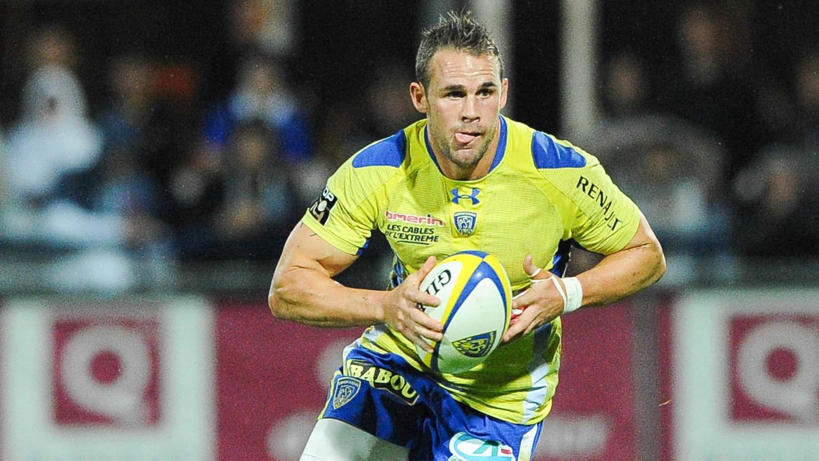 Lee Byrne - Clermont Grenoble - 14 septembre 2013