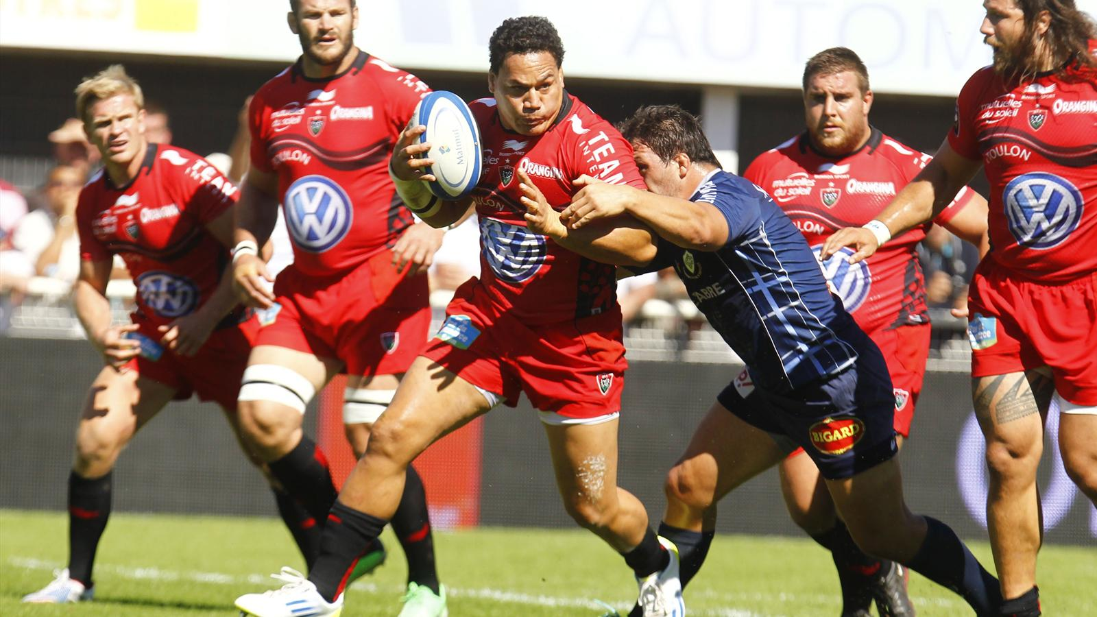 Chris Masoe - Toulon Castres - 14 septembre 2013