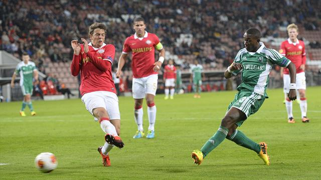 Shock home defeat for PSV