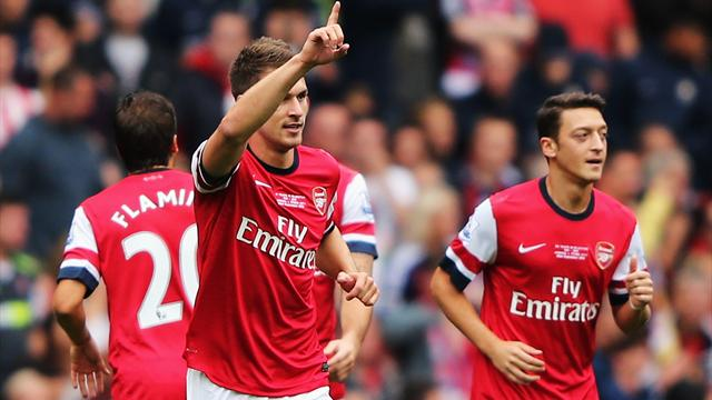 Arsenal go top with Stoke win - Football - Premier League