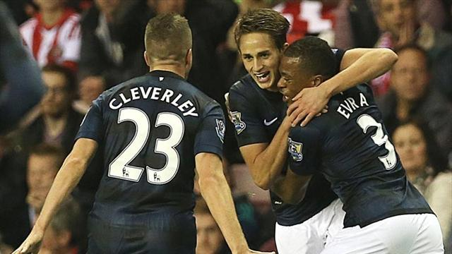 Januzaj double earns United victory at Sunderland