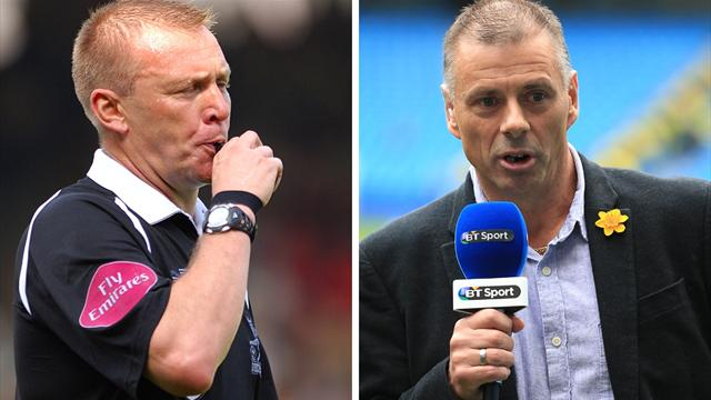 1105065 17510262 640 360 Ref Beef: Graham Poll tells Mark Halsey he let refereeing profession down in face off on Talksport