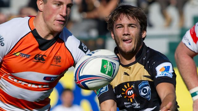 Montpellier passe en force - Rugby - Coupe d'Europe