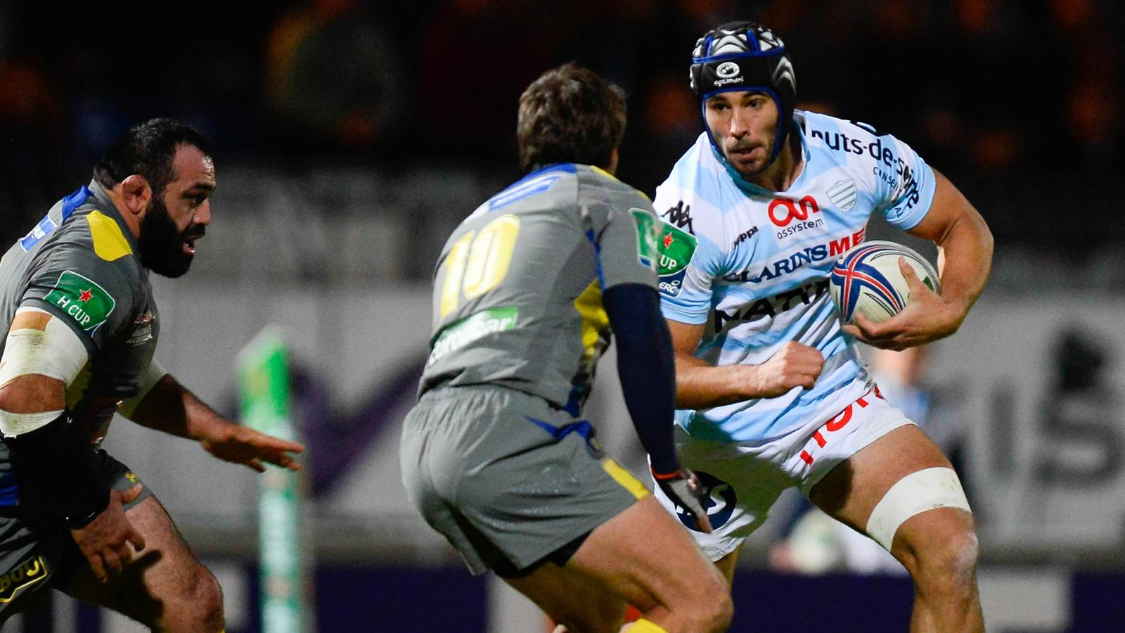 Antoine BATTUT  - Racing Metro Clermont - 13 octobre 2013