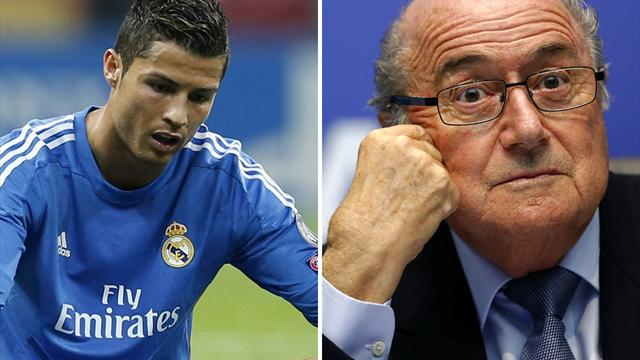 Blatter says sorry as Ronaldo, Portugal and Real react to 'hairdresser' jibe