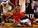 NBA : Le Heat Miami de LeBron James se fait respecter face aux Bulls de Rose, les Lakers s'imposent