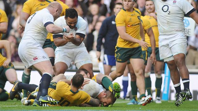 Les All Blacks en feu, l'Angleterre a dû cravacher - Rugby - Test Match