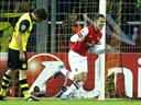 Arsenal secure superb victory at Dortmund