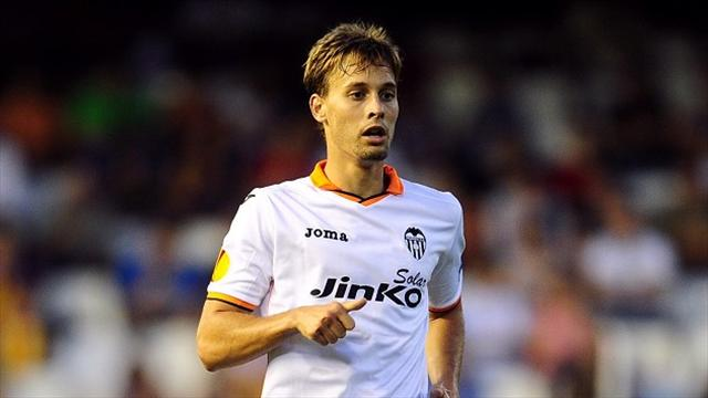Sergio Canales was on target as Valencia beat St Gallen