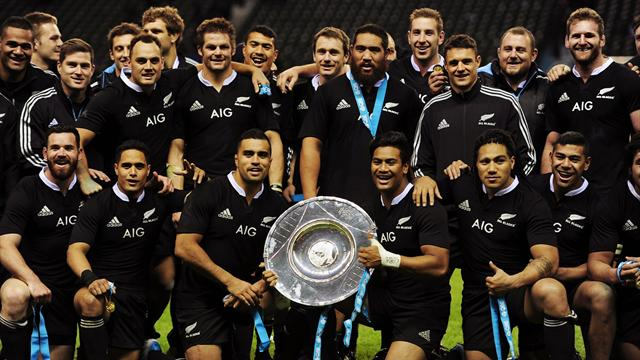 Les All Blacks remportent la bataille d'Angleterre - Rugby - Test Match