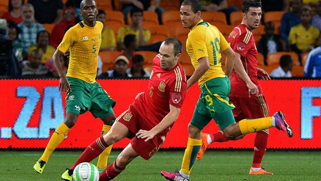 FIFA confirms South Africa's friendly win over Spain